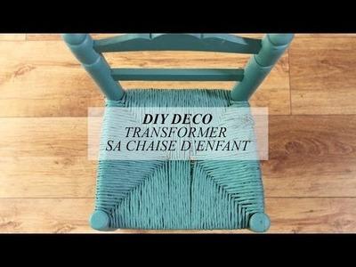 DIY déco : transformer sa chaise d'enfant