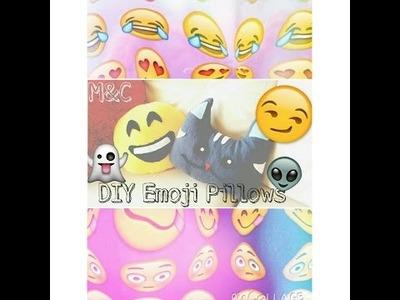 DIY Emoji Pillows | M&C