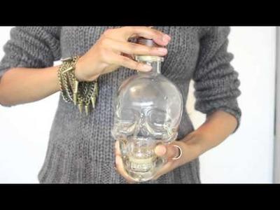 DIY Experiment: Gold skull