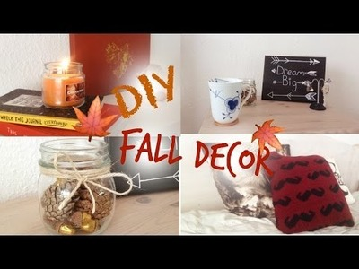 DIY Fall Room Decor - Make Your Room Cozy
