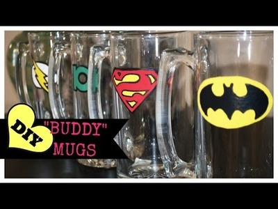 DIY Gifts for Him - Buddy Mugs