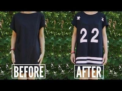 DIY - Sporty T-shirt