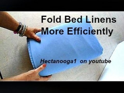 Efficient Bed Linen Changing   QUICK DIY TIP, Hectanooga1 on youtube