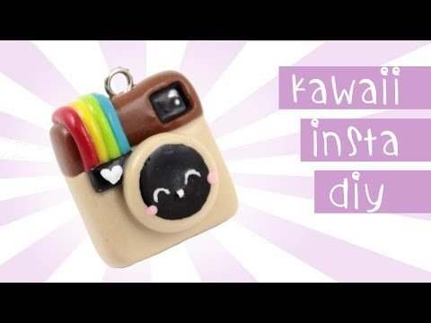 Instagram Charm DIY  Kawaii Friday