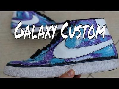 "Nike Blazer ""Galaxy"" Custom | Custom Sneakers #10 | DIY"