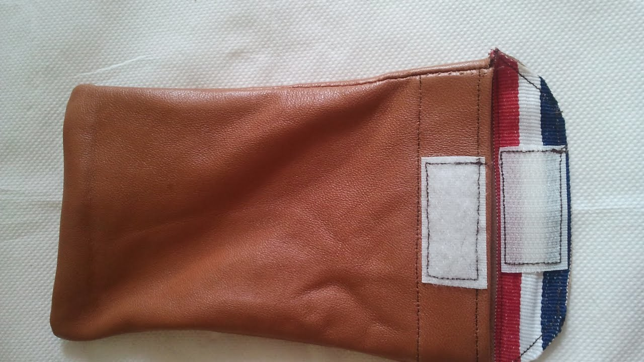 Sew a Stylish Leather Phone Case - DIY Style - Guidecentral