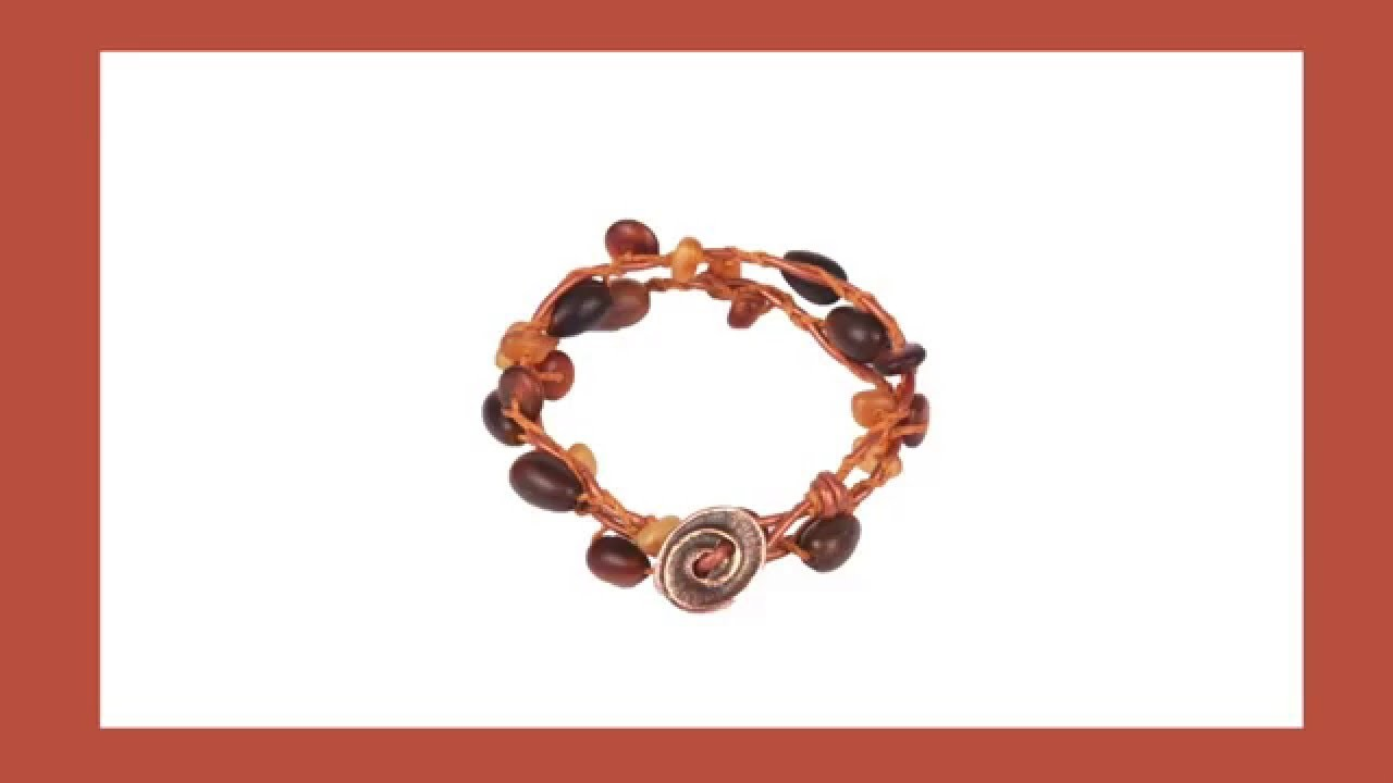 Antelope Beads - How to Make a Braided Wrap Bracelet