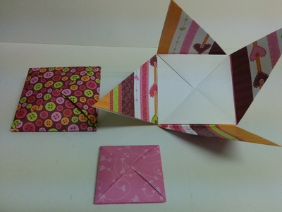 Art and Craft: How to make double compartment envelope