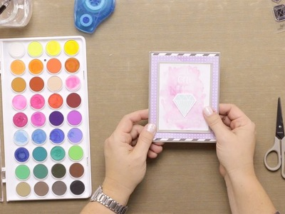 How To: Cardmaking a Just Because Card