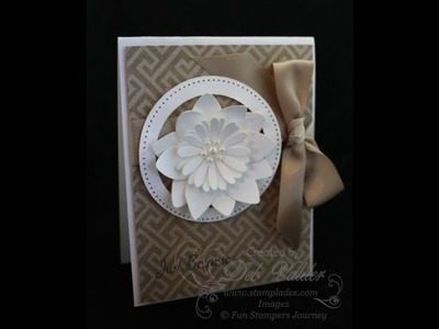 How to Create an Oatmeal Cookie Card with Deb Valder