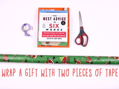How To Gift Wrap Anything