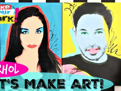 How to: Let's Make Pop Art