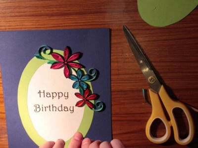 How to make a beautiful birthday card