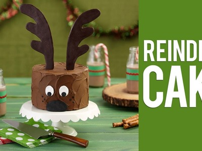 How to Make a Christmas Reindeer Cake