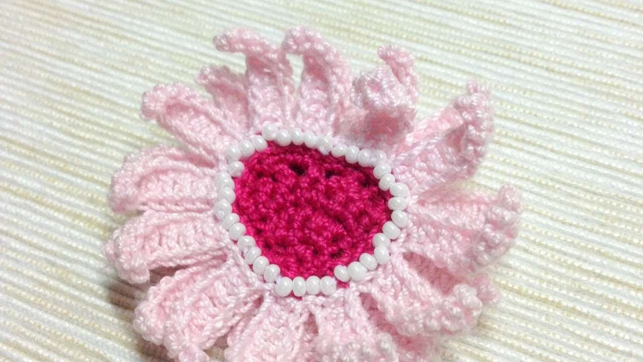 How To Make A Crocheted Lovely Flower Brooch - DIY Crafts Tutorial - Guidecentral