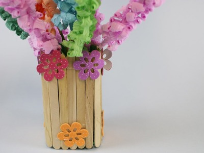 How to Make a Flower Vase from Plastic Bottle - (Recycle)