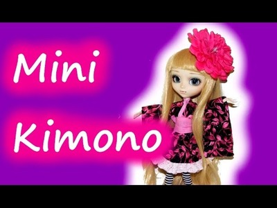 How to make a mini Kimono for Dolls