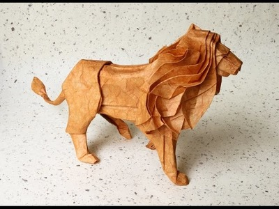 How to make a Paper Lion Origami