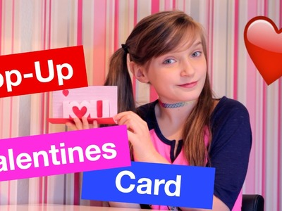 How to make a Pop Up Valentines Card!