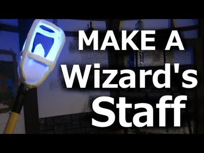 How to Make a Wizards Staff