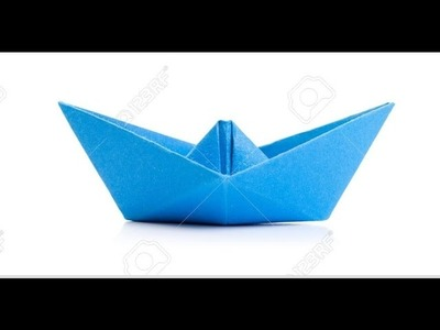 How to make an Origami Boat easy | Tutorial
