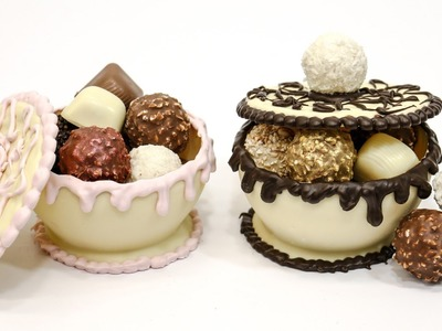 How To Make Chocolate Bowls For Sweets by CakesStepbyStep