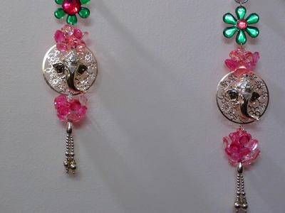 How to make decorative pooja room hangings