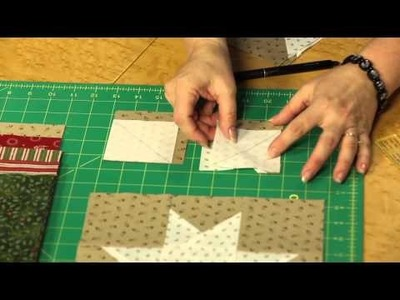 How to Make Quilting Quickly's Stars for Christmas Quilt