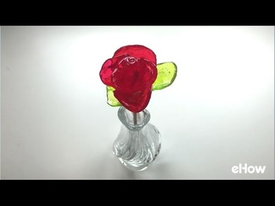 How to Make Roses Out of Jolly Ranchers