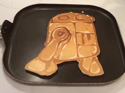 How to Make Star Wars Pancakes (Pancake Art of 15 different Star Wars designs)