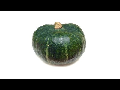 How to Peel, Seed and Cut a Buttercup Squash (HD)