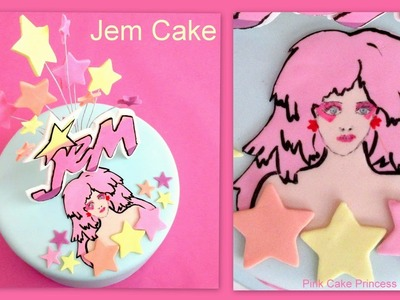 Jem And The Holograms Cake Toppers How to by Pink Cake Princess