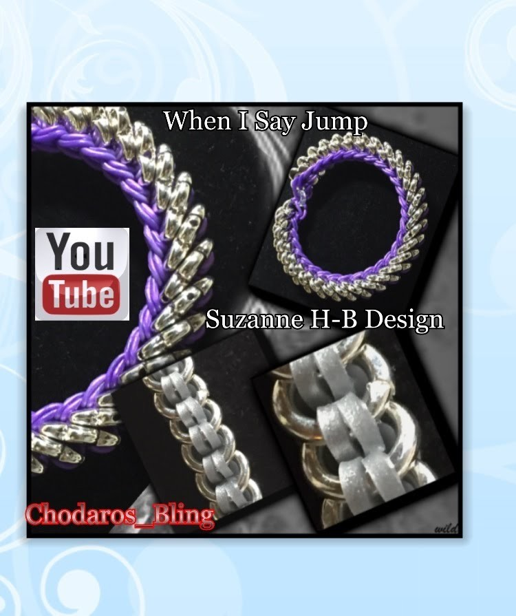When I Say Jump hook only RL Bracelet How to Tutorial