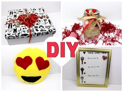 DIY- 4 Regalos SUPER BONITOS y económicos  para San Valentin!