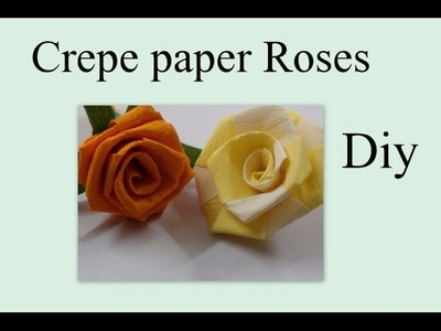 Do it yourself paper Roses