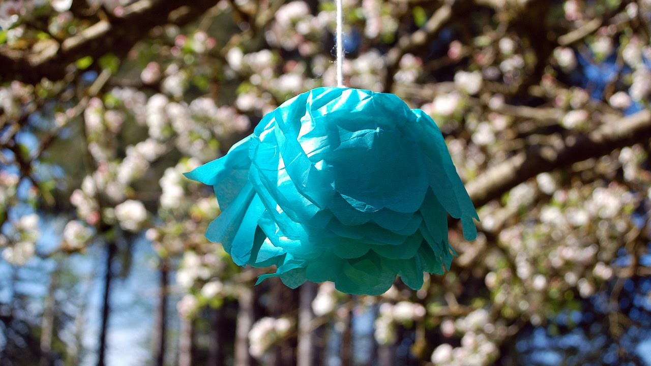 Easy Crafts for Kids: Making a Tissue-Paper Flower