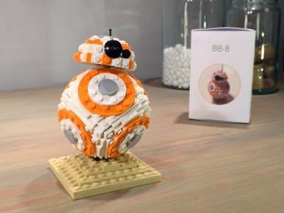 How to build Henrik's Lego BB-8 - Updated design!