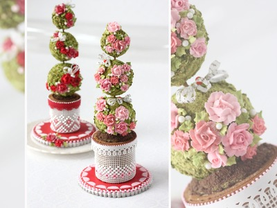 How to Make 3-D Cookie Topiaries