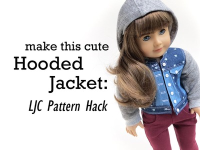 How to Make A Denim Hooded Jacket