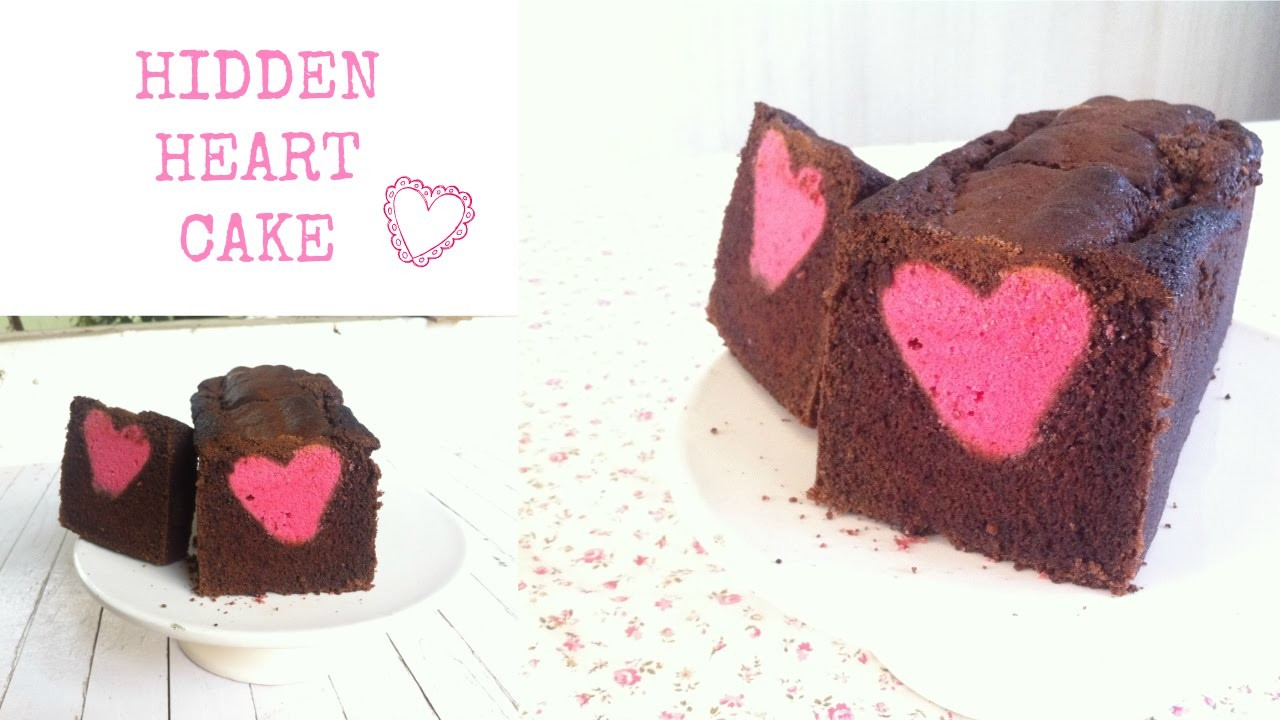 How to make a Hidden Heart Cake - By Poonam Joshi -Homemade Happiness