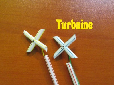 How to make a Homemade Turbaine with Straw   Easy tutorials
