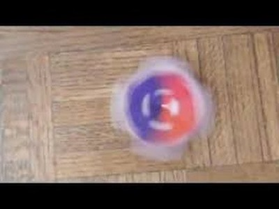How to make a paper beyblade - Origami