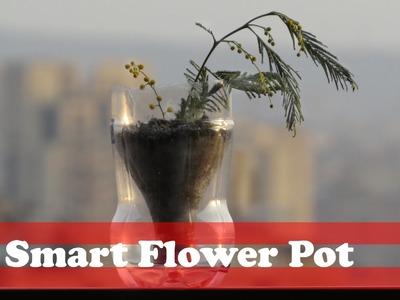 How to make a smart flower pot