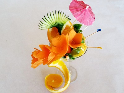 How to make an orange birthday daiquiri
