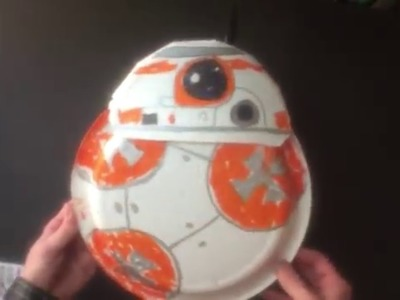 How to make BB-Plate, the origami (ish) version of Star War