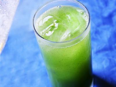How to Make Sparkling Matcha Green Tea Soda