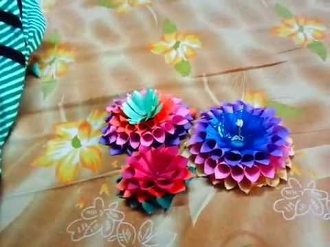 Paper crafts ideas -Wall decorated item or Candle Stand in simple way