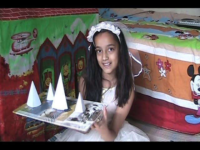 Pyramid Model - How to make a pyramid 3D - paper Craft origami - Very Easy