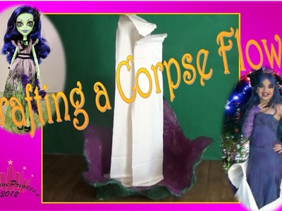 DIY Amanita Nightshade Corpse Flower - Creative Princess