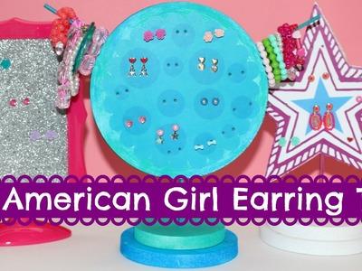 DIY American Girl Earring Tree Craft